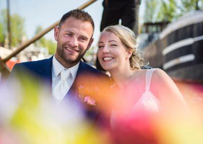 rondvaart leeuwarden friesland huwelijksbootje gondel bruid genieten
