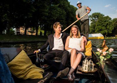 prive rondvaart leeuwarden huwelijksbootje prinsentuin romantisch gondola tours