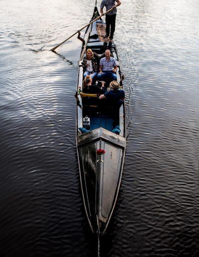 publieke rondvaart leeuwarden gezelligheid bubbels gondola tours